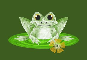 Speckled Frog by rockgem