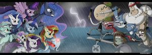 .:EPIC BATTLE!!:. by The-Butch-X
