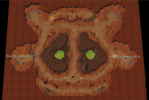 Cutthroat Colony SC2 Map by StormAndy