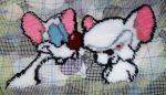 In-Progress Pinky and Brain by swalka1991