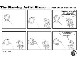 The starving Artist Gizmo 6 by culdesackidz