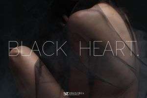 ''BLACK HEART'' -22 by erwintirta