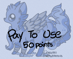 :Pay to Use Fox Lineart(50 :points): by PrePAWSterous