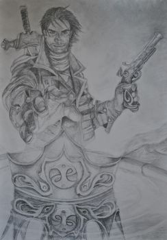 Fable 3 Drawing by Swaal