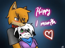 One Month.... by geckofan1