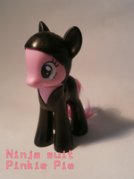 sneaky pie ninja Suit custom by caramelpony