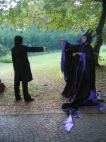 Maleficent VS Severus by professorSnape