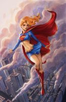 Supergirl Commission by Sabinerich