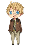 [Hetalia] United States -pixel- by caeths