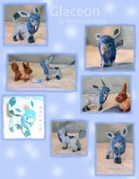 Glaceon figure by Porcubird