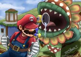 Look it's Petey Piranha! - Super Mario Sunshine by XanderComicsInc