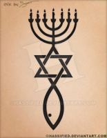 Messianic Seal Tattoo by hassified
