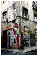 Don't pass through the corner by SergioGonzalez