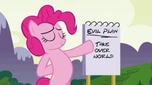 Pinkie Pie's Plan by demon1887