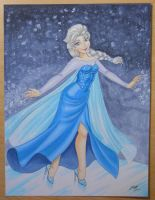 Elsa Commission by em-scribbles