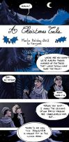 Merlin fancomic - Merlin Holidays 2013 by aureliebm