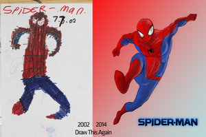 Draw This Again: Spider-Man by LEMOnz07
