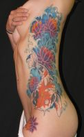 Big Koi Fish by tattooed-zombie