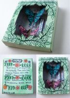 Butterfly Shadow Box by cashewed-almonds