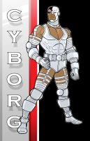 80's Cyborg-DC Y.B. Series by Thuddleston