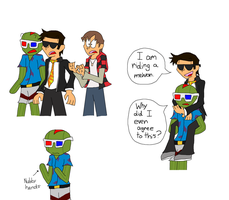 Bashur and Bodil Doodles (ft TheBajanCanadian) by hoshigirl21