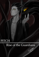 Pitch - Rise of the Guardians by ShaniNeko