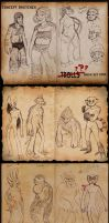 2014 OCT Concept Sketches 7 - Trolls? by RobinRone