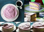 White Chocolate Blueberry Cake. by HappenedtoLive