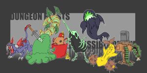 Dungeon Beasts by Cannibal-Cartoonist