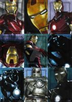 Iron Man The Movie set 5 by gattadonna