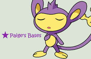 Breathe In Aipom Base by Paige-the-unicorn
