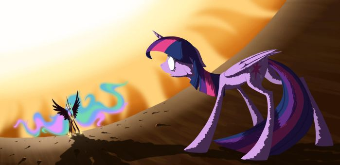 Want to play catch, Twilight? by grievousfan