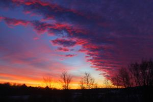 Strawberry Skies by LifeThroughALens84