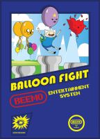 Adventure time Balloon Fight by alsnow