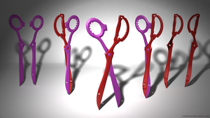 Rending Scissors (Both scissor blades) by Ladusence