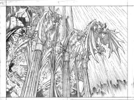 Batman script 2-3 splash by VASS-comics
