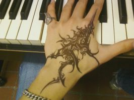latest hand. by dea01
