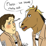 Marco we should make out by uberchicken