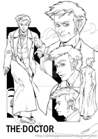 Character's Study: THE DOCTOR by ScarletMoonbeam