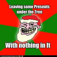 Santa Troll Meme by TheRealFry1