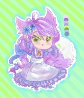 !NAME YOUR PRICE! Anthro Lolita Adopt .:OPEN:. by Hana-chan7