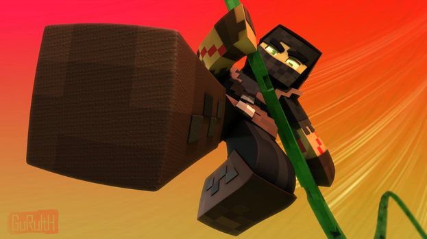 Swingin Ninja - Hypixel (Minecraft) by Guruith