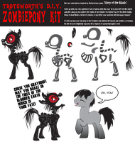 Trotsworth's DIY Zombiepony by Trotsworth