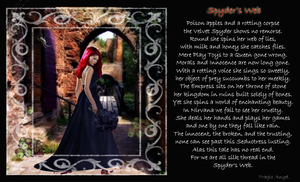 Spyder's Web Visual Poetry by TragicAngel