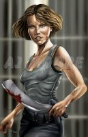 Maggie Greene - by AJ Moore by GudFit