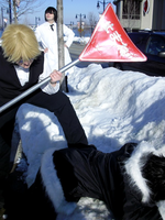 Snow, Meet Izaya-Face by Lucifer-Taichou