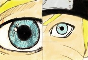 Naruto Memory colored by sztajnik