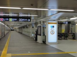 Japanese subway by nicojay