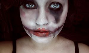 Practice Halloween Makeup by wtf-diane