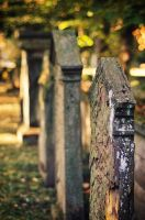 old grave stones by rayxearl